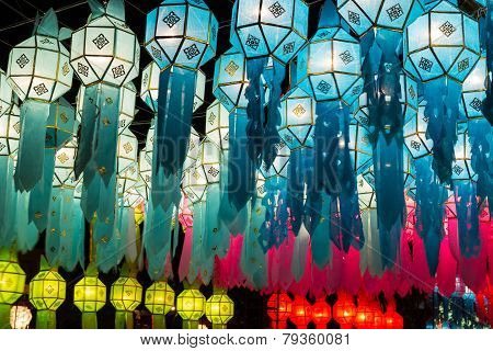 Thailand Traditional Decorating Paper Lantern