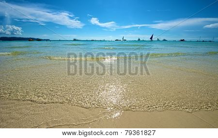 Beach View In Boracay