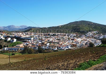 White town, Olvera.