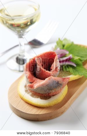Fish Hors D'oeuvre