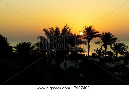 Sunrise, Red Sea, Egypt