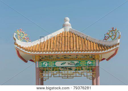Chinese style  pavillion