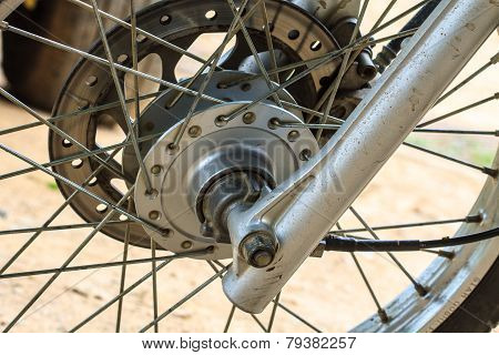 Braking System With A Motorcycle