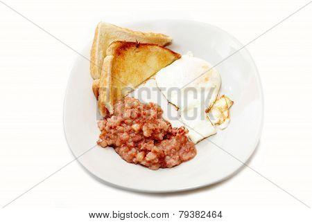 Corned Beef Hash & Egg Breakfast