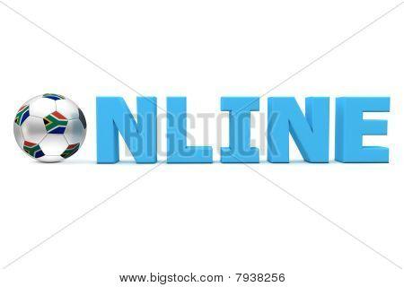 South Africa Football Online - Blue