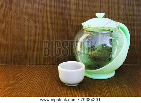 Teakettle And Teacup 2
