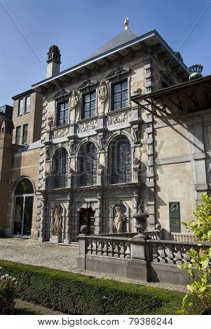 Peter Paul Rubens house - museum Antwerp Flanders Belgium Europe