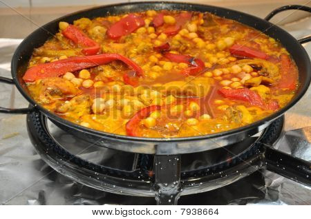 Tasty Spanish Food Paella