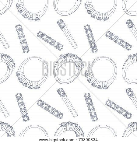 Diamond rings seamless