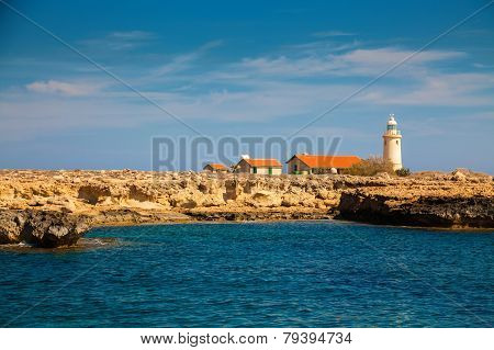 Lighthouse In Park Cape Greco, Cyprus
