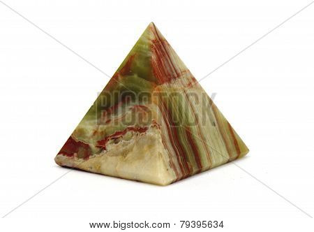 small pyramid of jasper.
