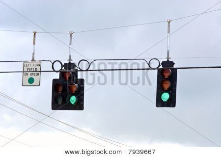 Trafic Stoplight Series Green Go