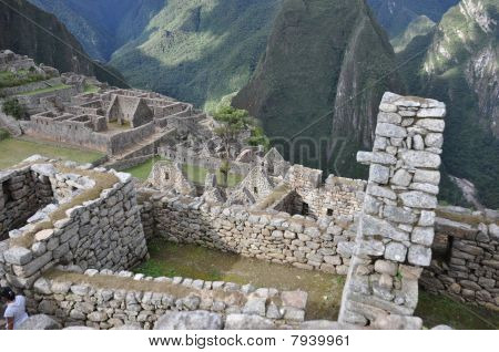 Roofs at Machu Picchu