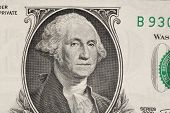 picture of two dollar bill  - Close up of american dollar bill as a background - JPG
