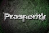 image of prosperity  - Prosperity Concept text on business idea illustration - JPG