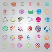 picture of star shape  - Sphere Icons Set  - JPG