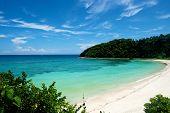 stock photo of boracay  - Beach in Boracay Island in the Philippines - JPG