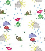 pic of cute frog  - Cute cartoon style illustration of frogs - JPG