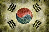 foto of hangul  - flag of South Korea - JPG