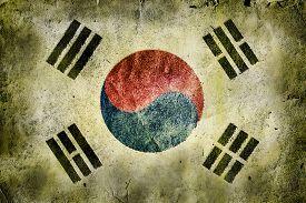 image of hangul  - flag of South Korea - JPG