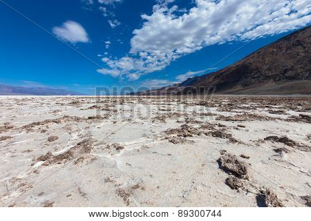 Lake In Death Valley