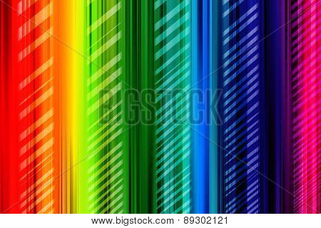 Rainbow Background Colorful With Pattern