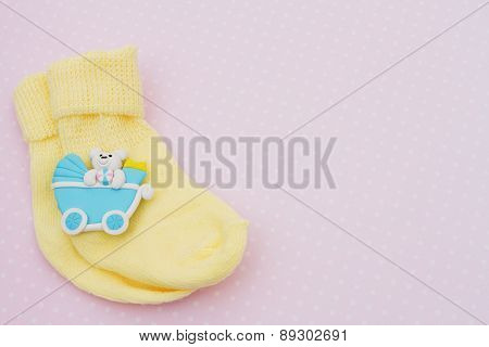 Yellow Baby Background