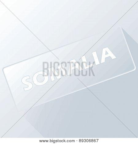 Somalia unique button