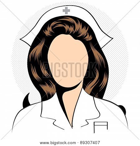 Beautiful Friendly And Confident Nurse