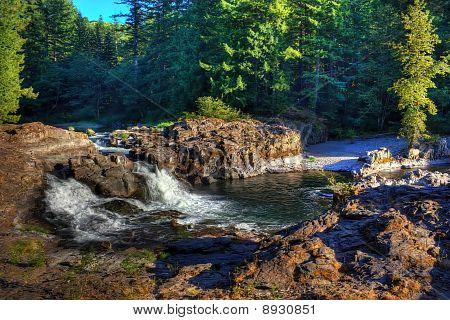 Lucia Falls Lewis River