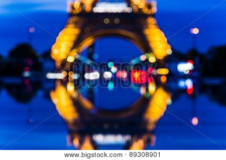PARIS, FRANCE April 24, 2015: Perspectives on Paris