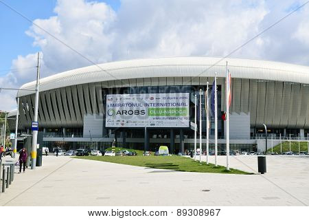 Cluj Arena Stadium Exterior Detail