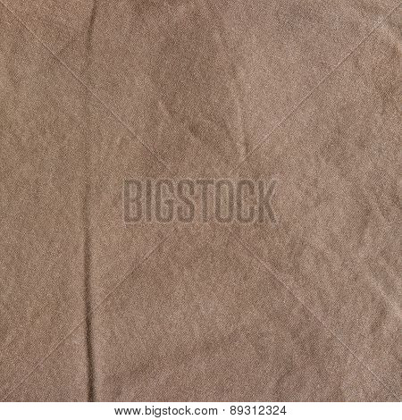 Brown fabric texture.