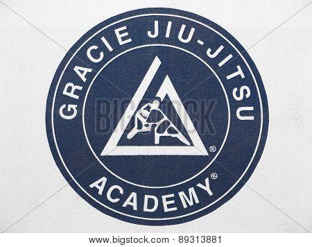 Gracie Jiu-jistsu Academy Logo Patch