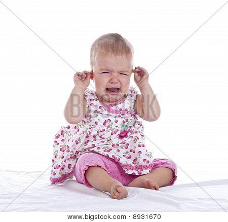 Bebé con dolor de oído