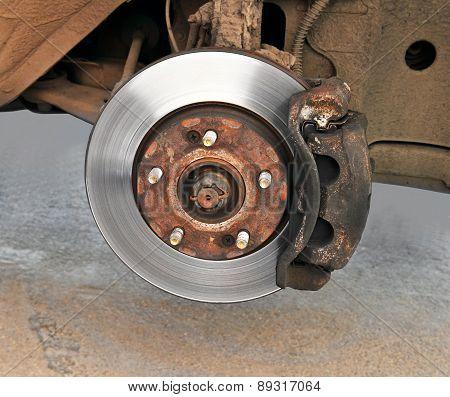 Disk Brake Mechanism