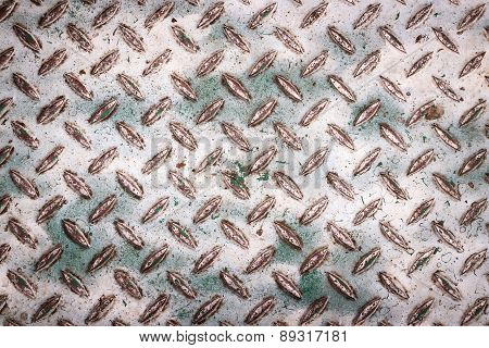 Metallic Dirty Rusty Surface Texture Background