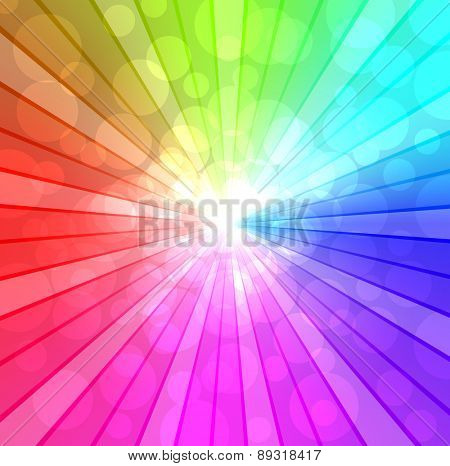 Colorful spectrum background.
