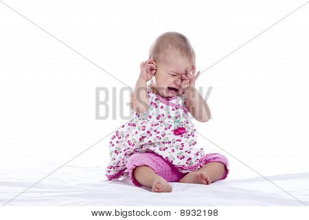 Tired Crying Baby