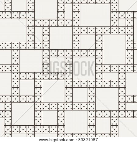 Vector seamless pattern of the dominoes