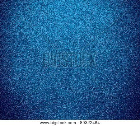 Brandeis blue color leather texture background