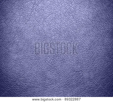 Blue Bell color leather texture background