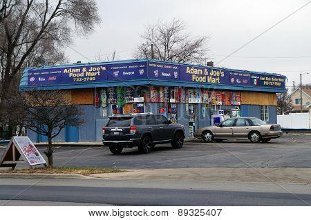 Small Corner Store