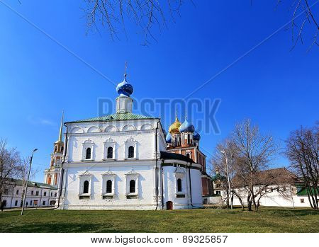 Church In Ryazan Kremlin