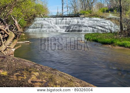 Indiana's Thistlewaite Falls