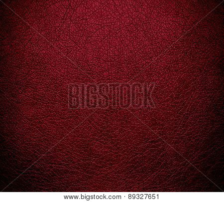 Burgundy color leather texture background