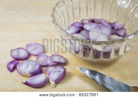Shallots In A Bowl