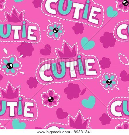 Cute Pink Girlish Pattern