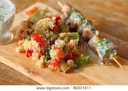 Salad With Couscous