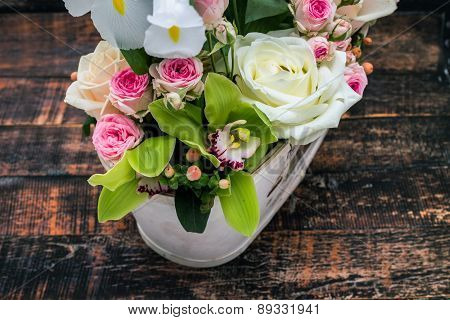 Fresh Spring Flowers Decoration